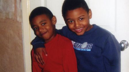 Tyler and Tavis Picture: Supplied by family
