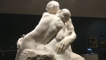As part of a Rodin study day at the University of Suffolk we visited the Kiss and Tell exhibition, i