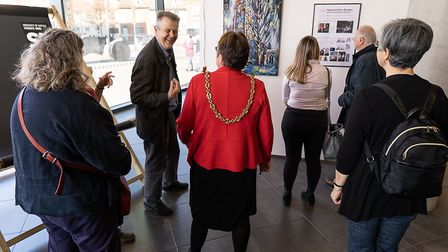 The St Clement'�s Memories and Recollections Project exhibition was held at the University of Suffol