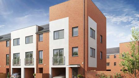The first satge of the Griffin Wharf development will see 36 townhouses built in Discovery Road, Ips