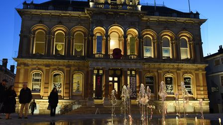 The Cornhill fountains should be switched on again on Monday. Picture: SARAH LUCY BROWN