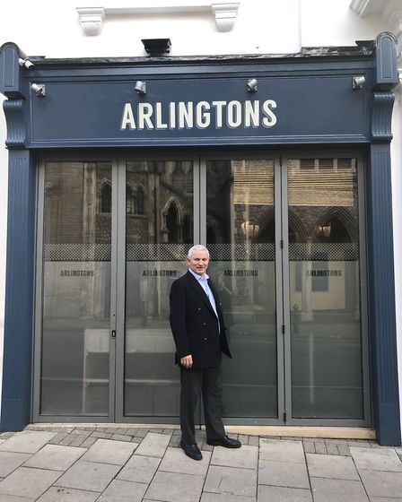 Peter Gwizdala is hoping to transform Arlingtons of Ipswich into a cultural destination.