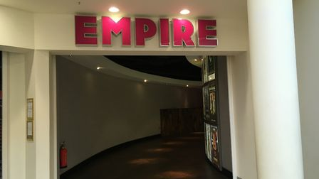 Empire Cinema in the Ipswich Buttermarket has apologised after an inappropriate trailer was shown be