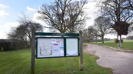 Two small children were rescued by their father after an Alsatian dog bit them in Bourne Park, Ipswi