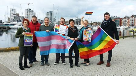 Suffolk Pride will take place on Ipswich Waterfront and is being supported by Suffolk New College Pi