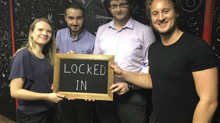 Gemma, Ross, Jason and Matt took on the Ipswich Escape Room - one of the most searched Google terms