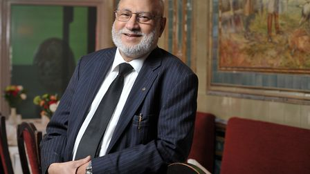 Manik Miah, owner of The Maharani in Ipswich Picture: SARAH LUCY BROWN