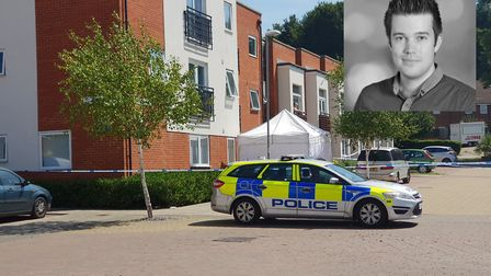 The scene around Siloam Place, and inset, Thomas Kemp Picture: ARCHANT
