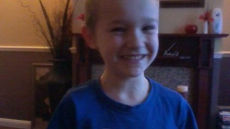 Kaylen O'Connor before he fell ill Picture: SUPPLIED BY FAMILY