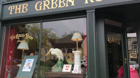 The Green Room cafe in St Margaret�s Green Ipswich is now open Picture: SUZANNE DAY