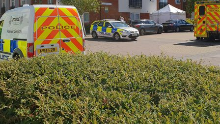 The scene at Siloam Place Picture: ARCHANT