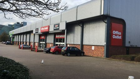 Office Outlet has a store at Russell Road in Ipswich. Picture: PAUL GEATER