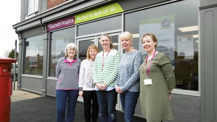 The new Ipswich hospice shop, cafe and community centre which will open today at the junction of Fox