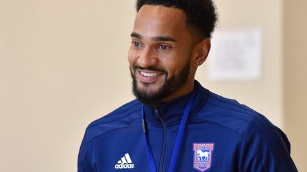 Ipswich Town player Jordan Roberts was handed six points for speeding Picture: Nick Butcher