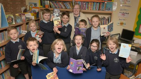 Children at Elmett Primary School are thrilled with the news that they will be getting new books aft
