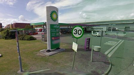 Anzani filling station in Triniity Avenue, Felixstowe - set for a revamp Picture: GOOGLE MAPS