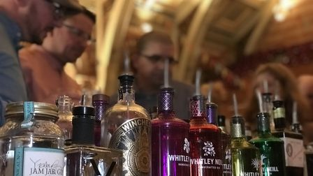 Around one thousand people attended The Great British Gin Festival at Ipswich Corn Exchange. Picture