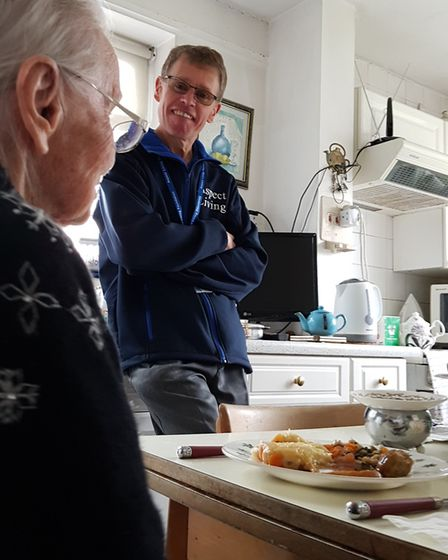The service delivers hot and cold food to elderly residents in Suffolk. Picture: RACHEL EDGE