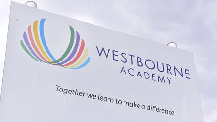Staff and students at Westbourne Academy are celebrating a 'good' Ofsted rating Picture: SARAH LUCY