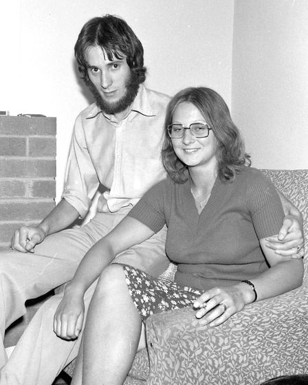 Annette Pitman wrote to identify this couple, she said The couple are Susan Kersey and Robert Vince