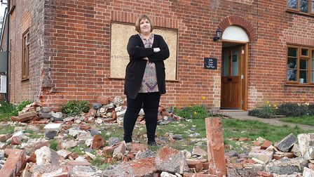 Nicola Stanmore said it was the third time the house has been struck by a vehicle in the last four y