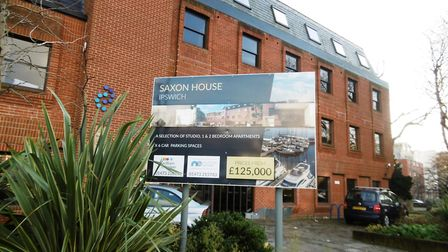 Saxon House, Ipswich, the former home of the Call Connection business, is to be converted into apart
