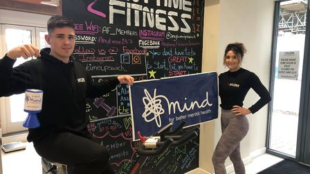 Anytime Fitness in Ipswich is opening its doors to the public for one week, just asking for a minimi