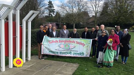 Members of the Suffolk Bangladeshi Society celebrate their national day at Alexandra Park in Ipswich