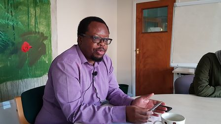 ISCRE's Phanuel Mutumburi has been working on the Destination Norwich Road project Picture: RACHEL