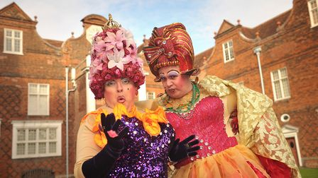 Cinderella is returning to the Ipswich Regent this Christmas. The Ugly Sisters are determined that