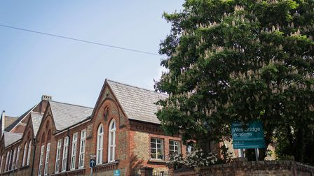 Westbridge Academy, in London Road. Picture: THE RAEDWALD TRUST