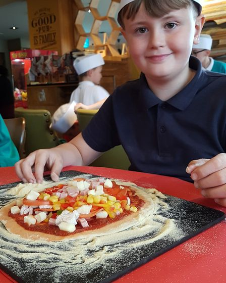Pupils from Ravenswood Community Primary School were shown how to enjoy their favourite foods in a h