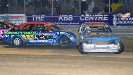 The Lightning Rods, always exciting at Foxhall. Photo: CHRIS BERRY