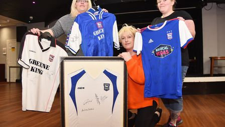 Lynn Bowers, Lisa Evans and Sara Jonas of the Gainsborough Labour Club are organising an auction of