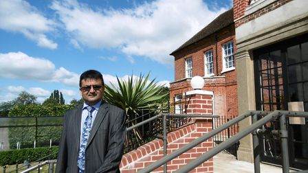 Westerfield House care home, Humber Doucy Lane, Ipswich where owner Mac Khan is aiming to create a c