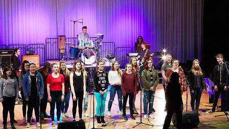 Suffolk One hold their spring concert every year before the Easter holidays. Picture: JOE TAYLOR