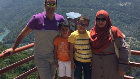 He has been separated from his family while seeking asylum in the UK Picture: SUBMITTED BY FAMILY