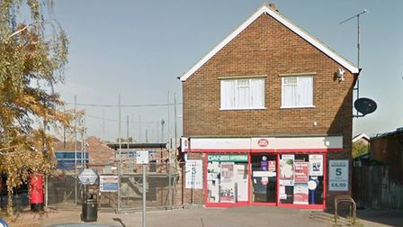 Parcel collections are temporarily suspended at the Penzance Road post office in Kesgrave Picture: G