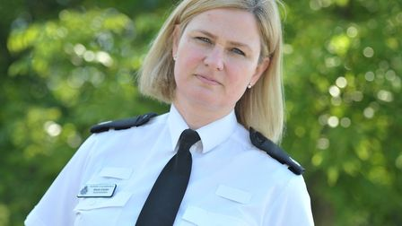 Supt Kerry Cutler said there had been a 'spike' in hate crimes after Brexit Picture: SARAH LUCY BRO