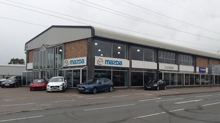 The former Donalds Mazda and Volvo site was on the market with Savills. Picture: CHRIS MOODY