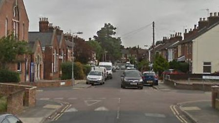 The first crash happened in Alan Road in Ipswich Picture: GOOGLE MAPS