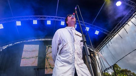 Oasis will be one of the tribute acts taking to the stage at Trinity Park this summer Picture: TOPCA