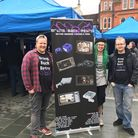 Liam, Miles and Chris from Bring Back Retro Gaming organised a popular event on the Cornhill in Ipsw