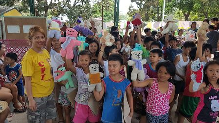 Volunteers from the Children of Pulilan Foundation made the 6,000 mile trip to the Philippines Pictu