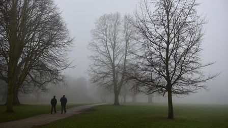 The region is experiencing a foggy start to the week Picture: SARAH LUCY BROWN