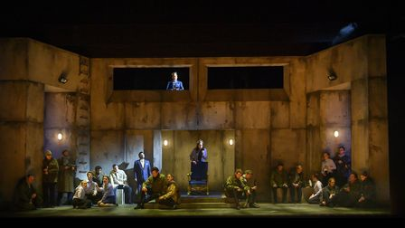 Macbeth is one of three operas based on the theme of Kings and Queens the English Touring Opera are