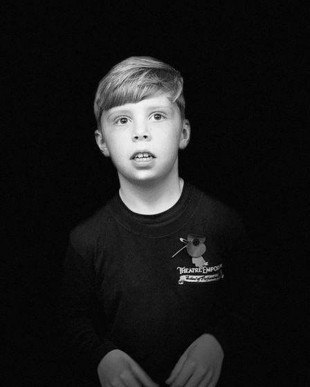 Bruce Stacey, nine, from Ipswich, is set to take a star turn in the English Touring Opera's Macbeth