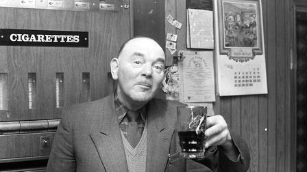 A customer enjoying his pint Picture: ARCHANT