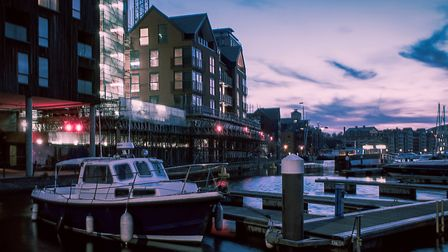 Picture of the week winner Chris Stephenson took this stunning photograph of Ipswich Waterfront Pict