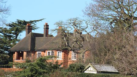 The house in Park Road, Ipswich, close to Christchurch Park, which is set to be converted into 14 fl